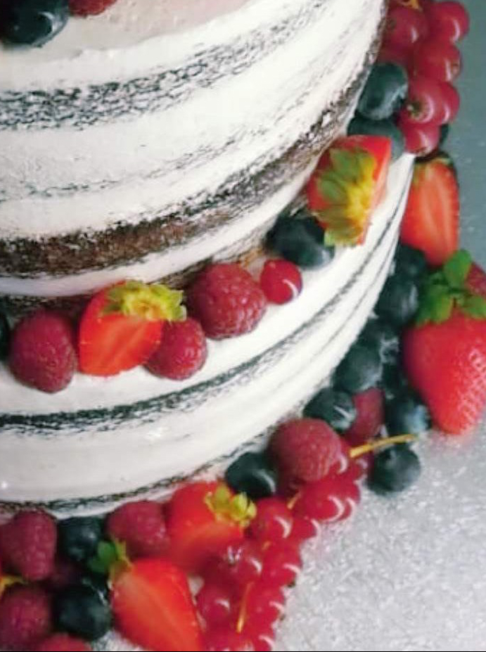 Espectacular tarta de boda